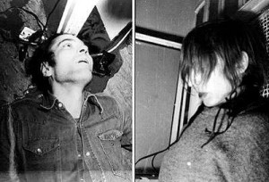 Andreas Baader shot through the head and Gudrun Ensslinhanging in her cell: the State claimed they committed suicide...