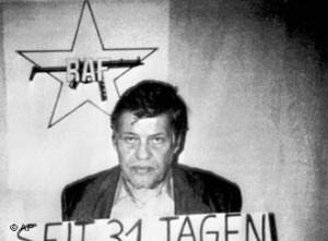 Hans Martin Schleyer in captivity