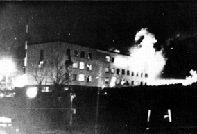 Stockholm 1975: the West German embassy in flames...